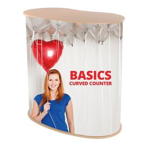 Replacement Graphic Panel - Basics Curved Counter