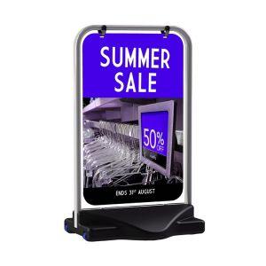 Aquabase Prime Swing Sign