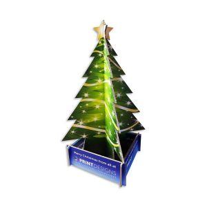Cardboard Christmas Tree Display