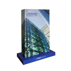 Cardboard Monolith Display