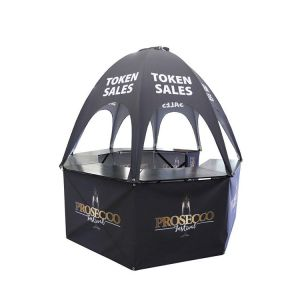 Pop Up Dome Event Kiosk