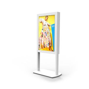 Freestanding Ultra High Brightness Digital Posters - 2,500CD/M²