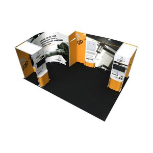 ISOframe Wave 6m X 4m Exhibition Stand