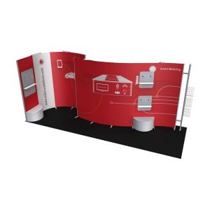 ISOframe Wave 6m X 2m Exhibition Stand