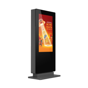 Touch Screen Freestanding Outdoor Digital Poster