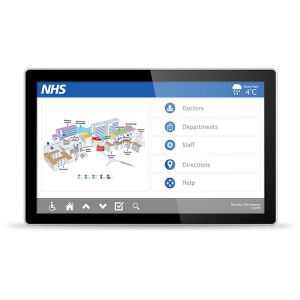 PCAP Touch Screen Display with Dual OS