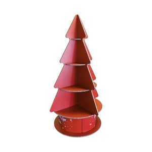 Rounded Cardboard Christmas Tree Display