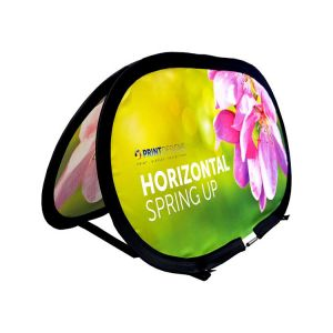 Horizontal Spring Up Banner