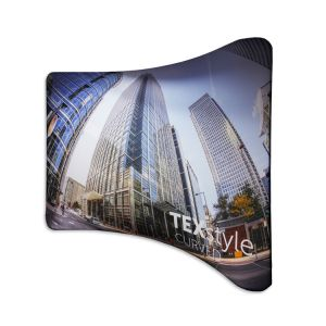 TEXStyle Curved Fabric Display