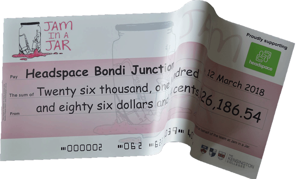 Rollable Giant Cheque